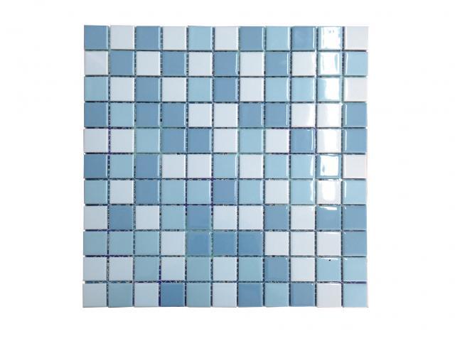 Mosaico piscina Piccolo Light Blue