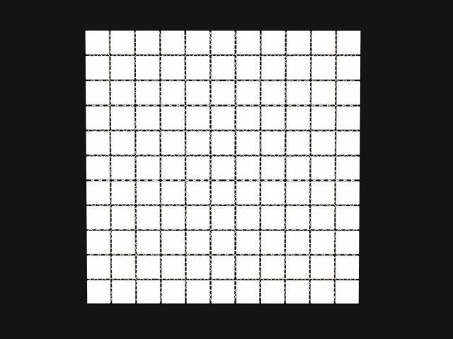 Mosaico Square Smalto Bianco