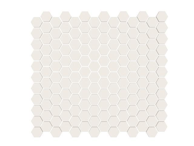 Mosaico Esagono Piccolo Tutto Spessore Cream