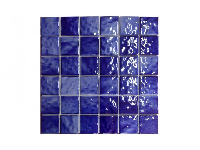 Mosaico piscina Waves Dark Blue