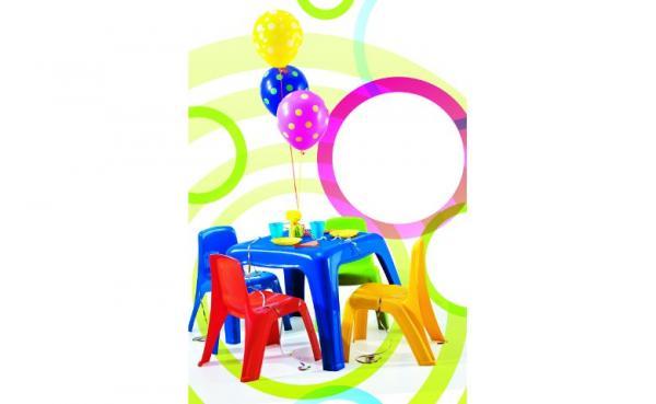 Alquiler de Sillas y Mesas Para Niños