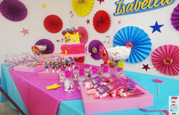 adornos fiesta infantil