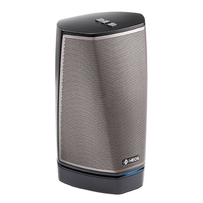 HEOS 1 High Res Audio with BT Dual-Driver Wireless Speaker (Black)
