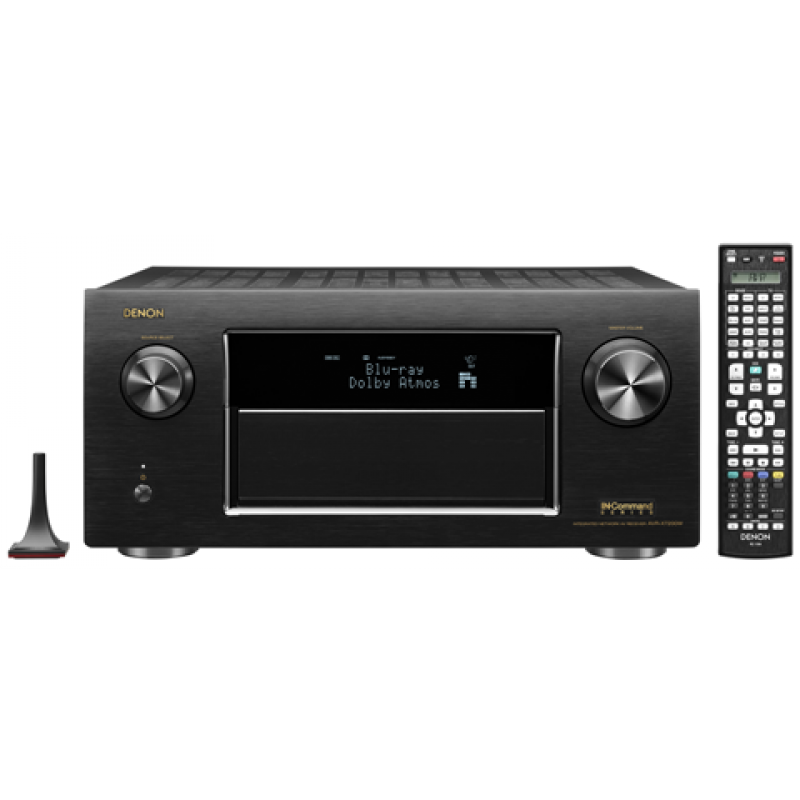 Denon 9.2 Channel Full 4K Ultra HD A/V Receiver with Bluetooth and  WiFi