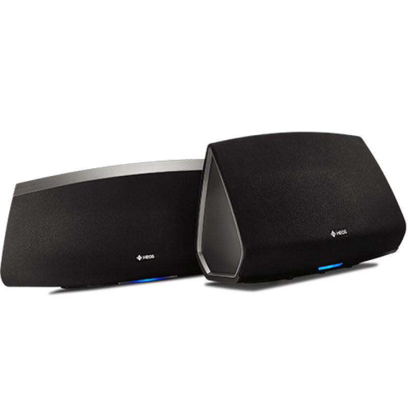 HEOS HS 2 Bundle: HEOS 5 + HEOS 7 (Black)