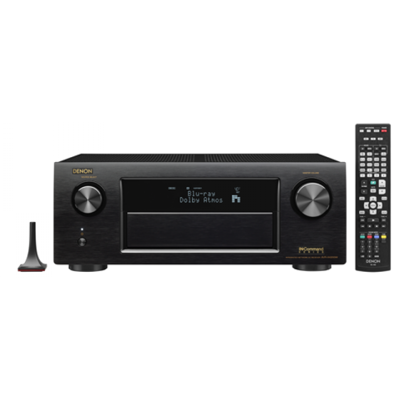 Denon 7.2 Channel Full 4K Ultra HD A/V Receiver with Bluetooth and  WiFi