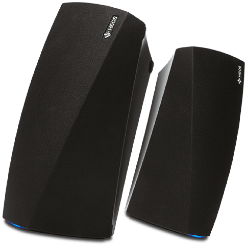 HEOS HS 2 Bundle: 2 x HEOS 3 (Black)
