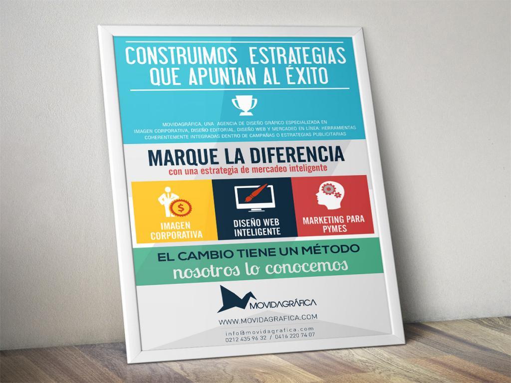 Imagen de Afiche, Flyer o Volante por Movidagrafica