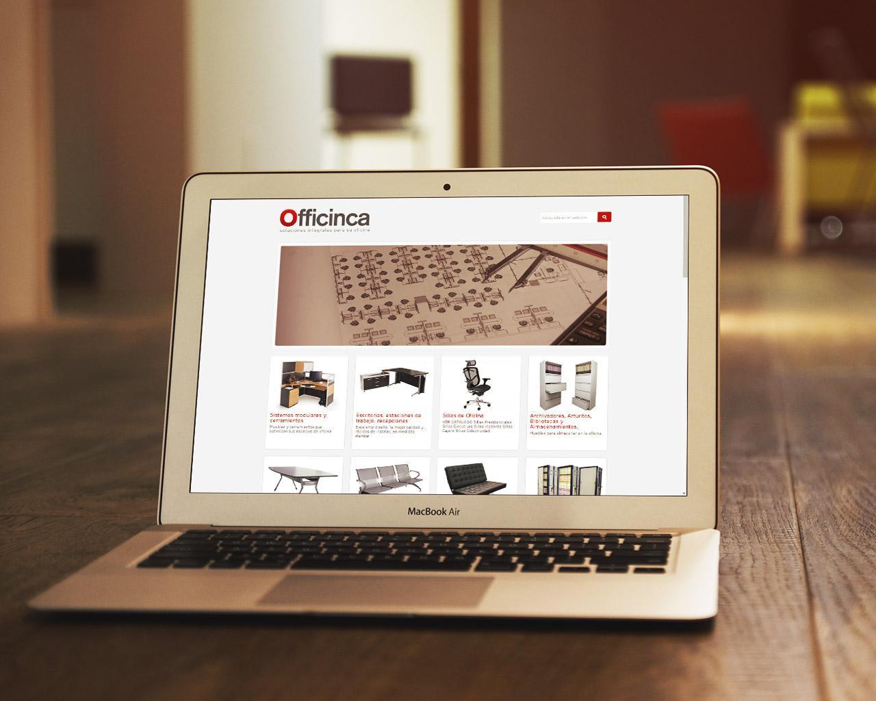 Imagen de Officinca.com por Movidagrafica