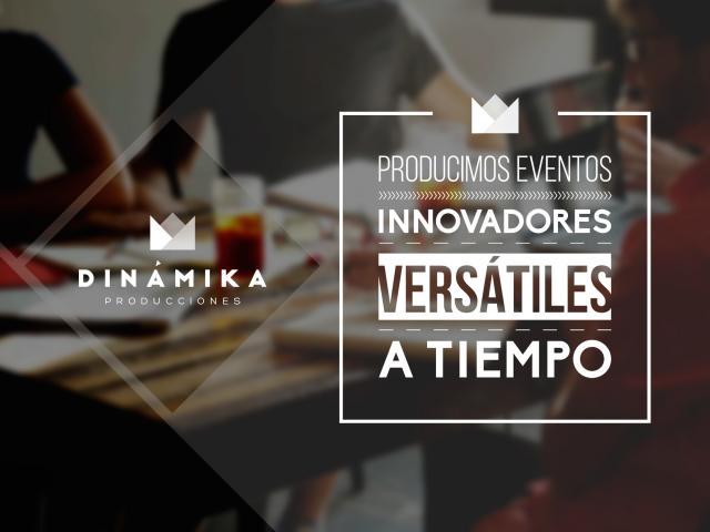 Presentacion para Dinamika Producciones  en Bogot� por Movidagrafica Colombia