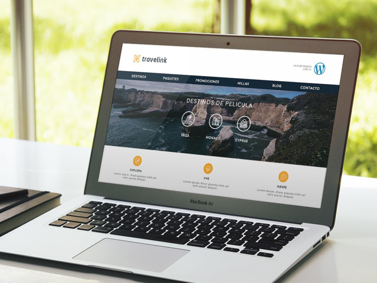 Imagen de Página Web con WordPress por Movidagrafica