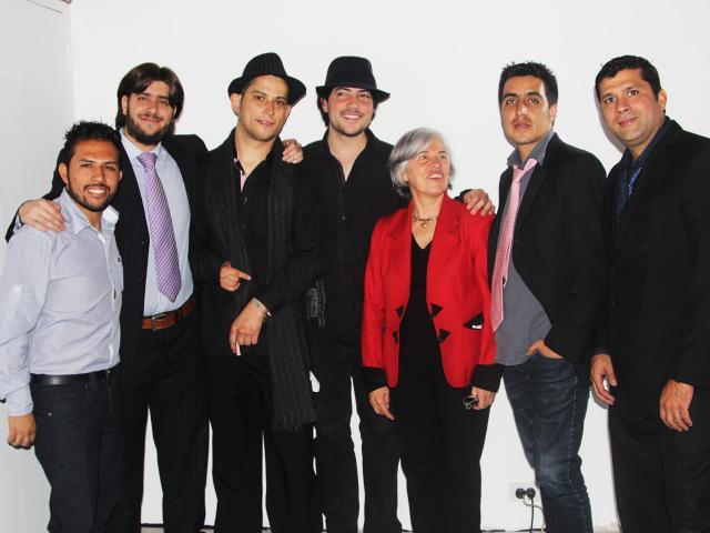 Evento de prelanzamiento del hubi captado por Movidagrafica Colombia