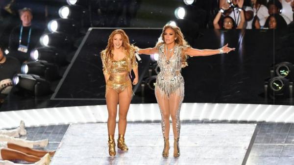 Shakira y JLo en el Super Bowl 2020