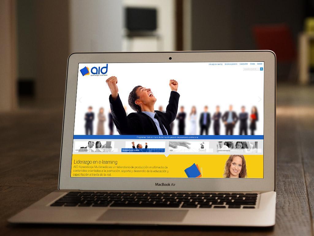 Imagen de Página web tipo portal por Movidagrafica