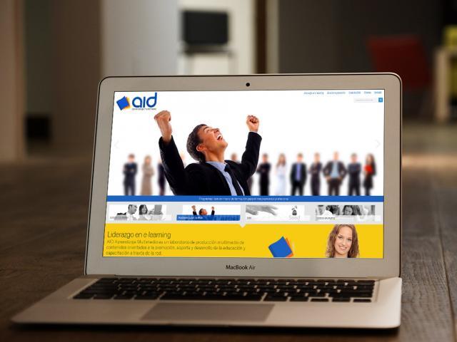 Página web tipo portal