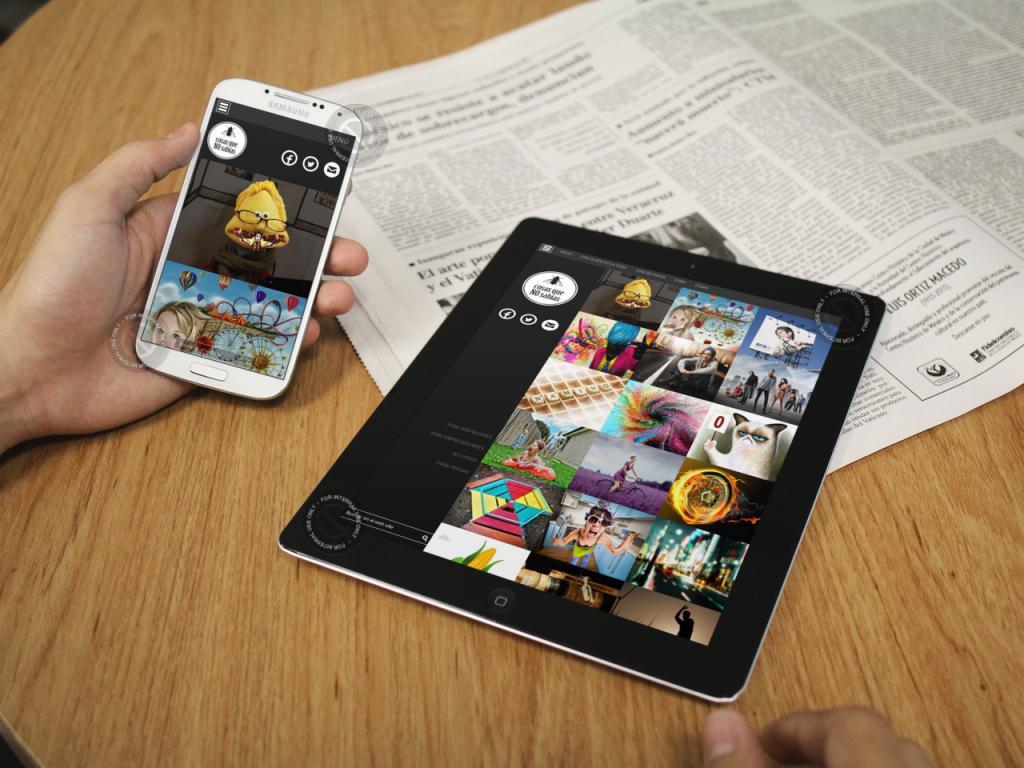 Imagen de P�gina web m�vil por Movidagrafica