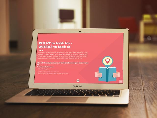 On Media Marketing Web site