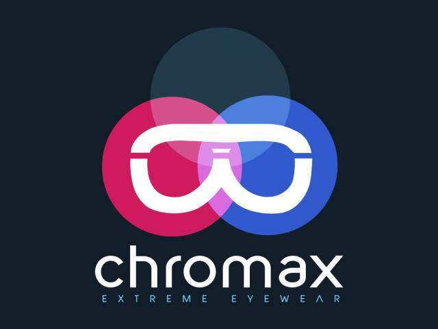 diseño logo chromax por movidagrafica