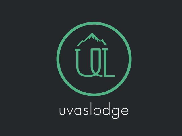 Imagen corporativa de Uvas Lodge dise�?±ada por movidagrafica