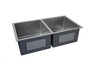 Fregadero Kitchen-Pro 2-Cub de 800x450x229 mm