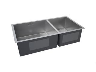 Fregadero Kitchen-Pro Z 2-Cub (60/40) de 830X450